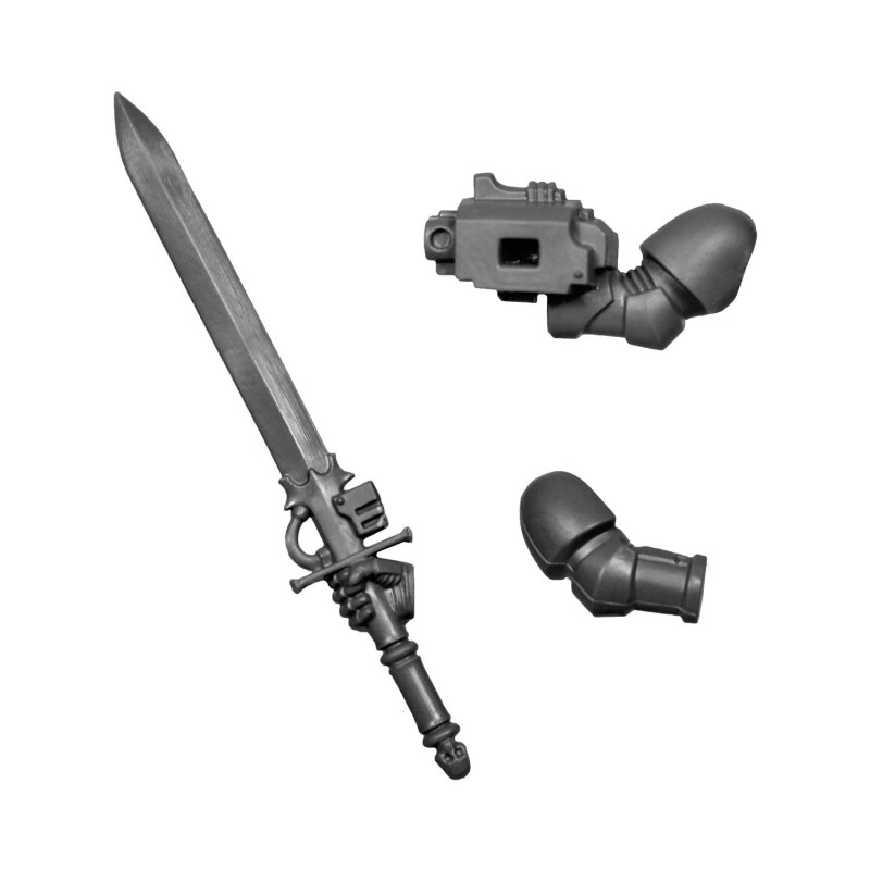 Nemesis Force Sword C Warhammer Grey Knighs bitz