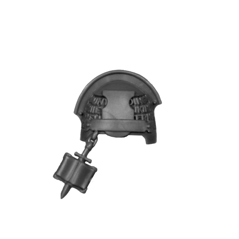 Shoulder Pad L Warhammer Grey Knighs bitz