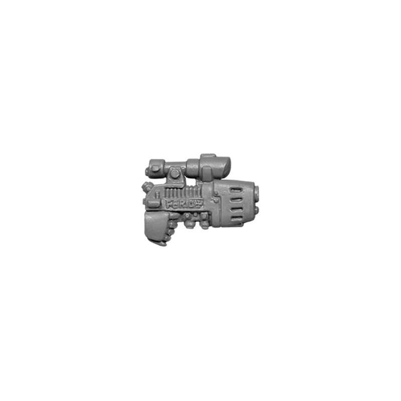 Plasma Pistol with scope Warhammer 40k Space Marines bitz