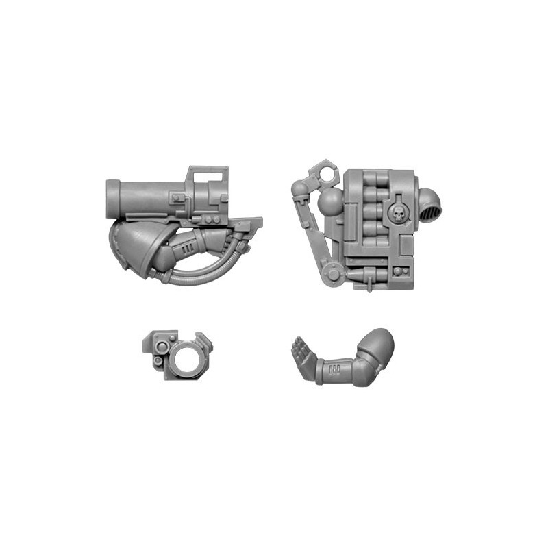 Missile Launcher with backpack Warhammer 40k Tactical Squad bitz