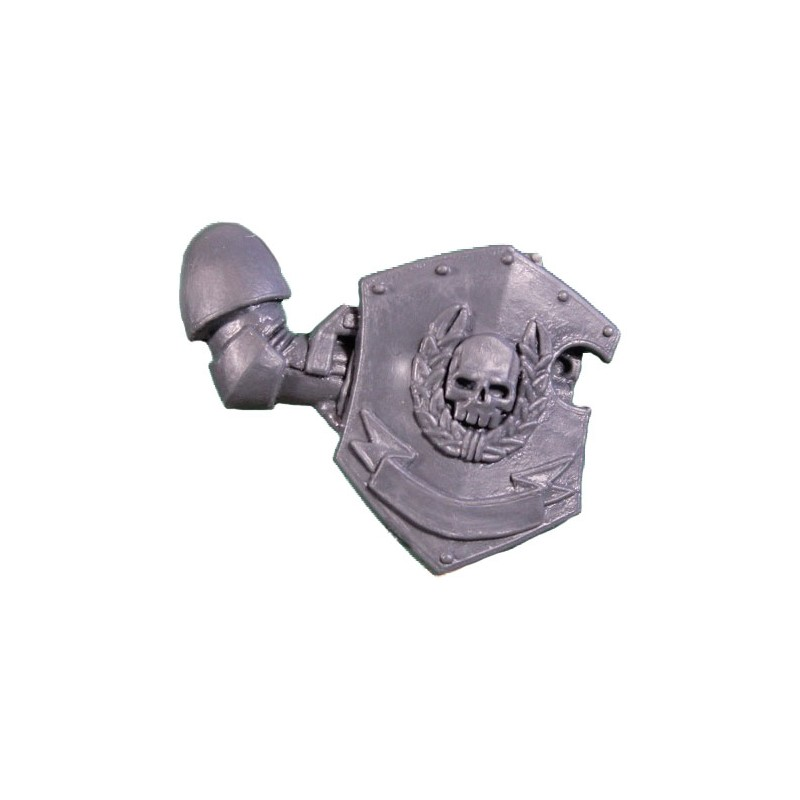 Right Arm with Combat Shield Warhammer 40k Space Marines Command Squad bitz