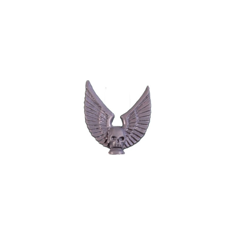 Skull winged Banner Top Warhammer 40k Space Marines Command Squad bitz