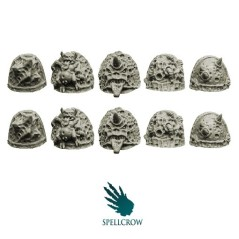 Plague Knights Shoulder Pads A Spellcrow bits