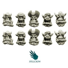 Bulky Freebooters Orcs Heads