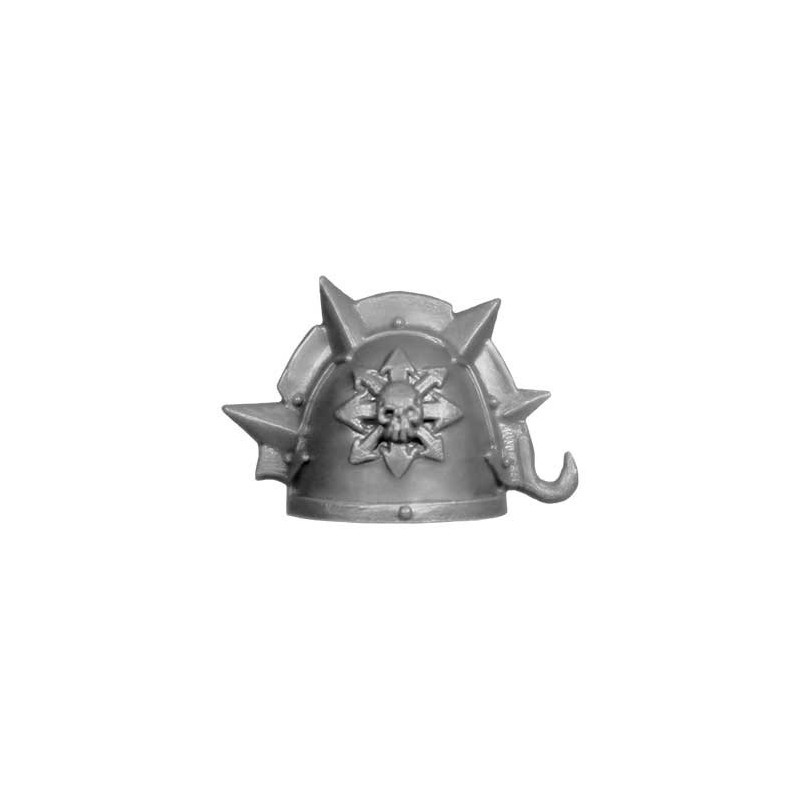 Shoulder Pad D Warhammer 40k bitz Chaos Possessed