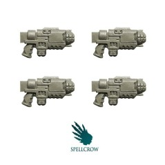 Space Knight Gravity Guns Spellcrow bits