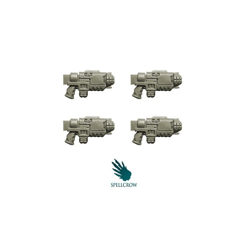 Gravity Guns Space Knights bits Spellcrow