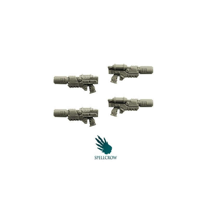 Melting Guns Space Knights bits Spellcrow