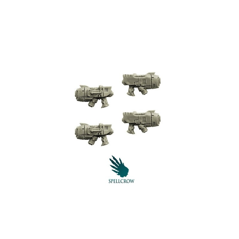 Pistolets Plasma Space Knights bits Spellcrow