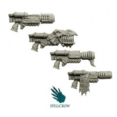 Salamanders - Melting Guns Space Knights bits Spellcrow