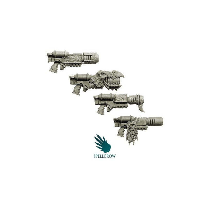 Salamanders - Space Knight Melting Guns Spellcrow bits
