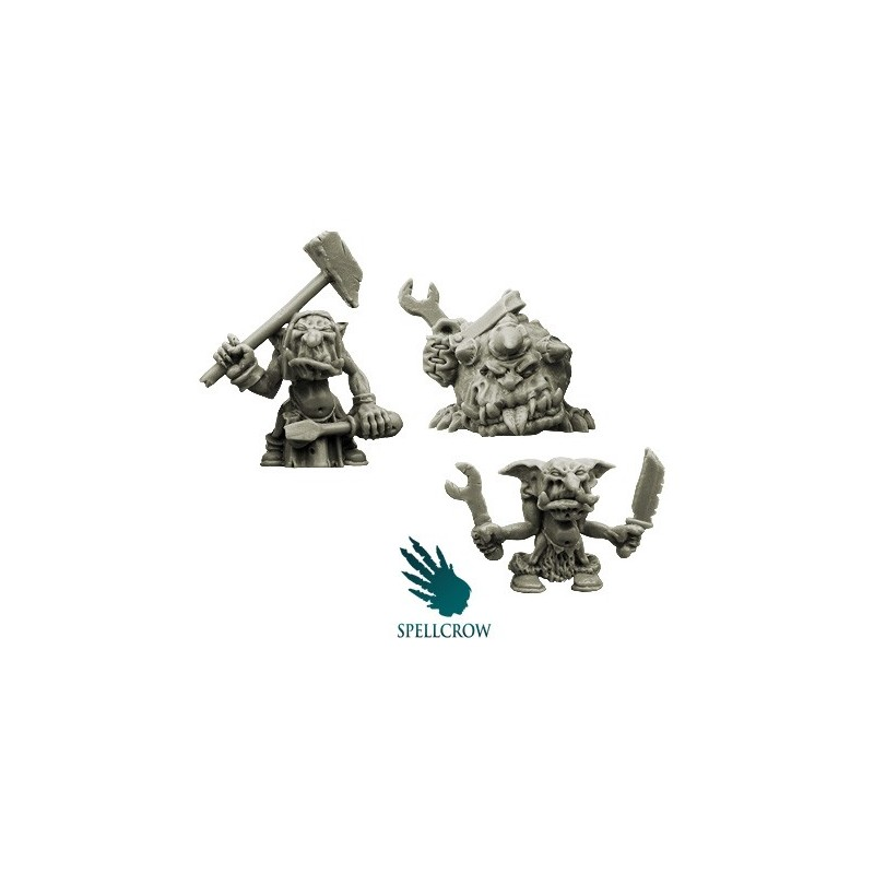Goblins Mechanics & spawn assistant Spellcrow bits