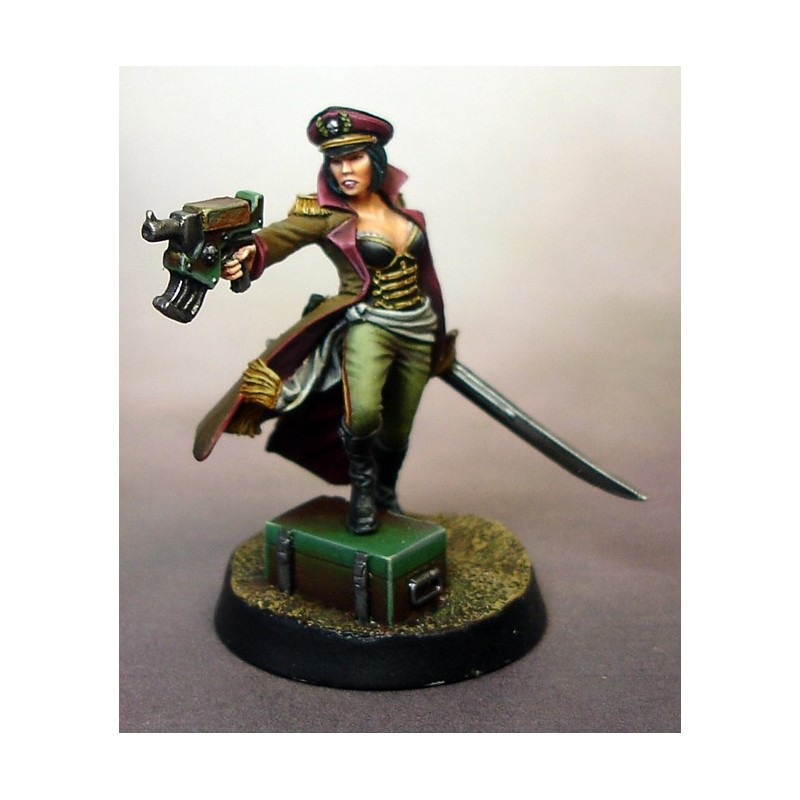 Disciplinary Officer Viktoria Skivlana Warforge miniature