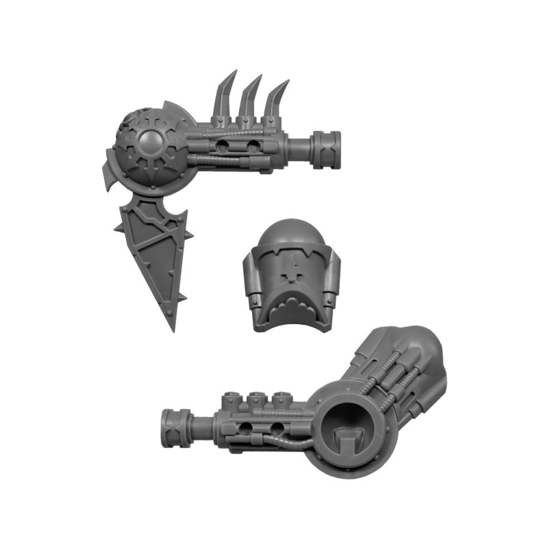 Arm Right Warhammer 40k bitz Chaos Space Marines Heldrake