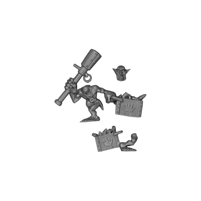 Runt with Ammo bitz Nobz Orks Wh40k