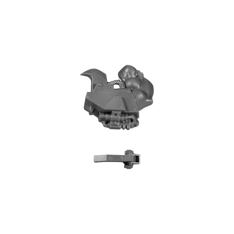 Powerclaw on right arm B bitz Nobz Orks Wh40k