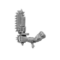 Left Arm with Chainsword bitz Stormboyz Orks Wh40k