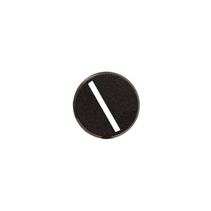 Socle rond 25mm