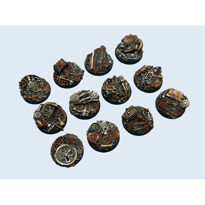 Trash Base Round 25mm X5