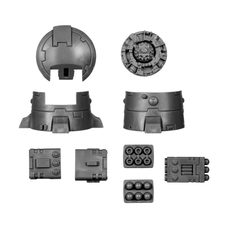 DS8 Tactical Turret Warhammer 40k Fire Warriors bitz