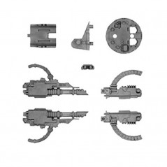 Razorback Turret with Heavy Bolter and Lascannon