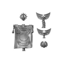 Banner Warhammer 40k Blood Angels bitz