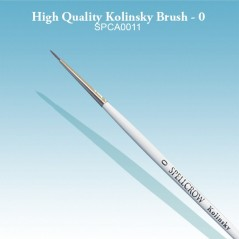 High Quality Kolinsky Brushes - 0