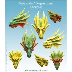 Salamandra - Dragons Icons
