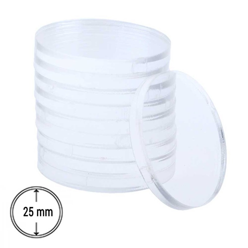 25 mm Transparent Round Base