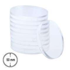 Socle Rond Transparent 50 mm X1