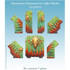 Salamandra - Ornaments for Light Vehicles