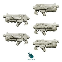 Wolves Space Knights - Combined Plasma Core Guns