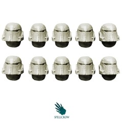 Corroded Helmets