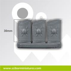 SF Roman Shields