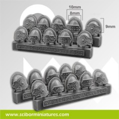 Celtic Small Shoulder Pads