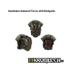 Guardsmen Armoured Torsos & Backpacks