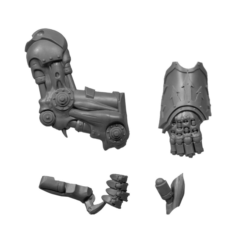 Right Arm Chaos Space Marines Forgefiend & Maulerfiend