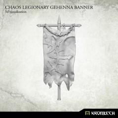 Chaos Legionary Gehenna Banner
