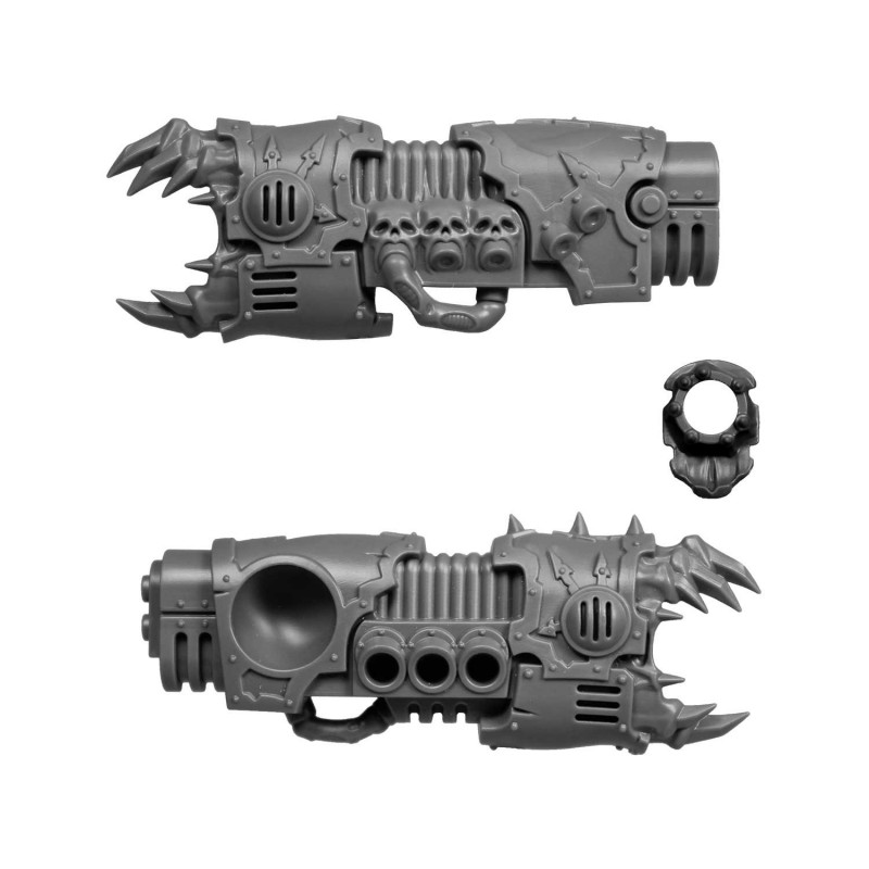 Ectoplasma Cannon Left Chaos Space Marines Forgefiend & Maulerfiend
