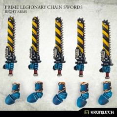 Prime Legionaries CCW Arms: Chain Swords (right arms)