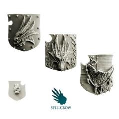 Salamandra / Dragons Knights - Heavy Large Shields