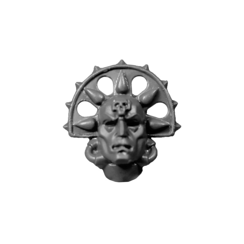 Death Mask C Blood Angels Space Marines Sanguinary Guard.