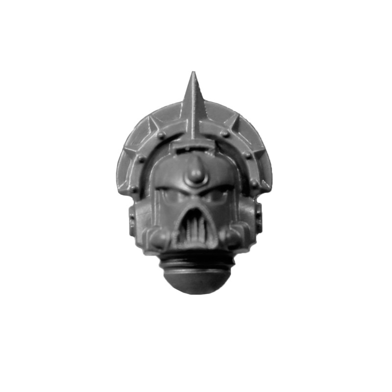 Helmeted Head A Blood Angels Space Marines Sanguinary Guard.