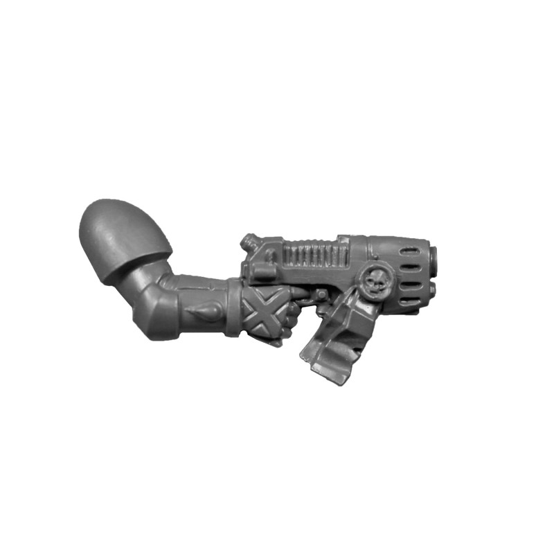 Pistolet Plasma A de la Compagnie de la Mort Blood Angels Space Marines.