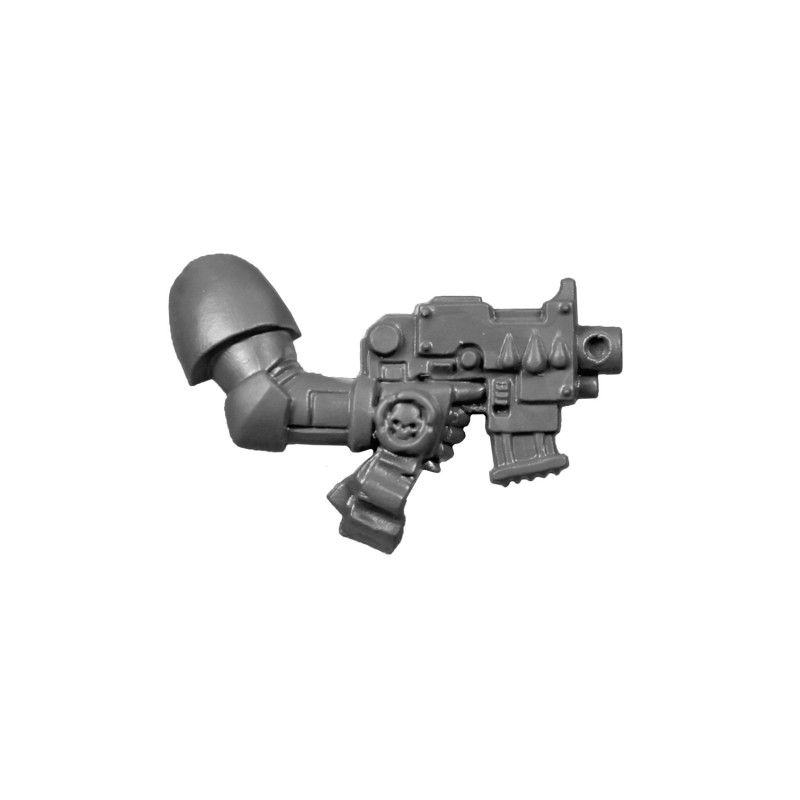 Pistolet Bolter B de la Compagnie de la Mort Blood Angels Space Marines.