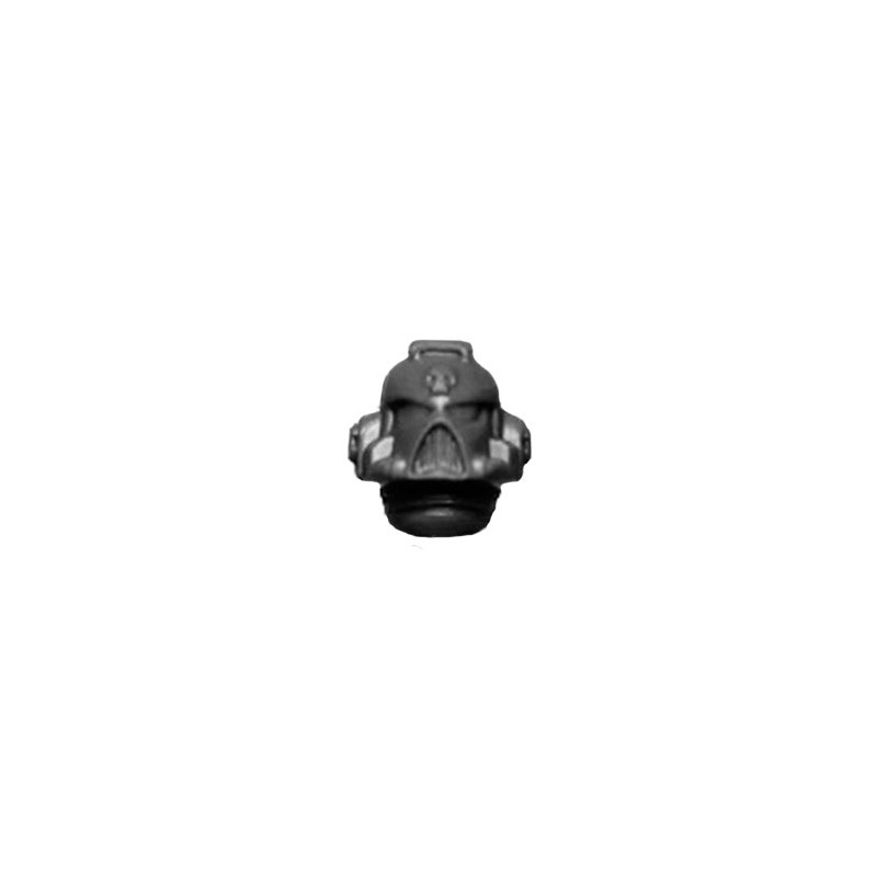 Head with Skull Warhammer 40k Space Marines Command Squad bitz