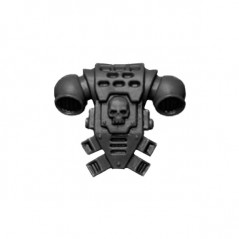 Back Pack with Skull Warhammer 40k Space Marines Command Squad bitz