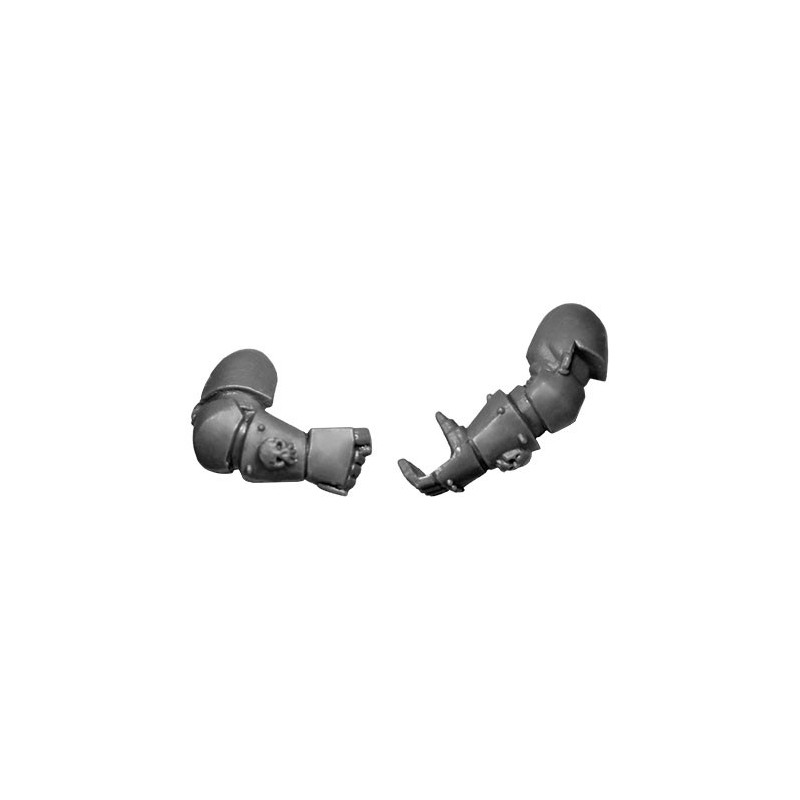 Pair of Arms A Warhammer 40k bitz Chaos Space Marines