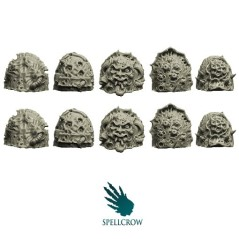 Plague Knights Shoulder Pads C Spellcrow bits