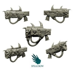 Mixed Sonic Guns Spellcrow bits